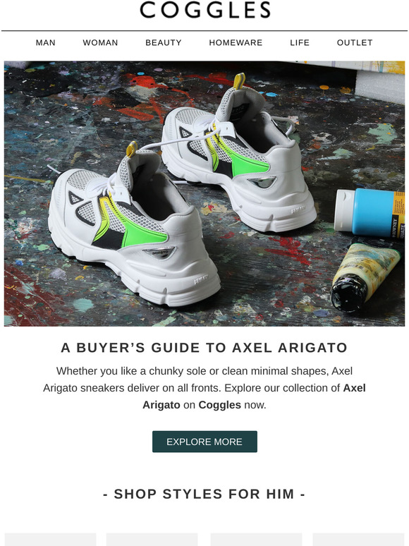 A buyer's guide to Axel Arigato