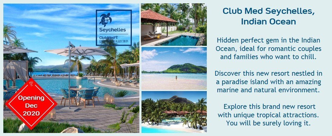 Clubmed Re Discover Club Med Exclusive Collection Milled