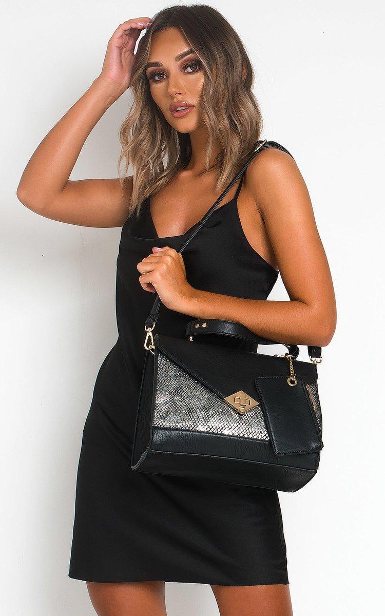 IKRUSH Womens Colette Faux Leather Mini Dress