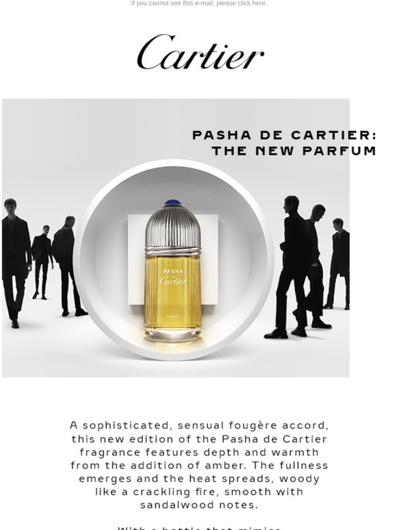 Cartier: The New Pasha Parfum | Milled