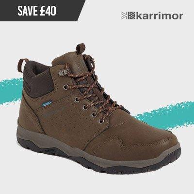 Karrimor Mens Taransay Mid Weathertite Boots