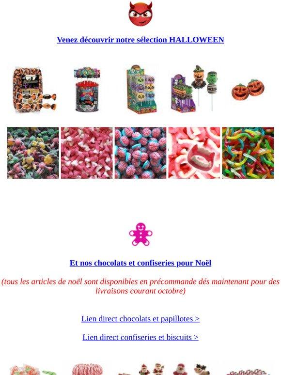 Confiserie Foraine Com Confiseries Pour Halloween Et Pour Noël Milled