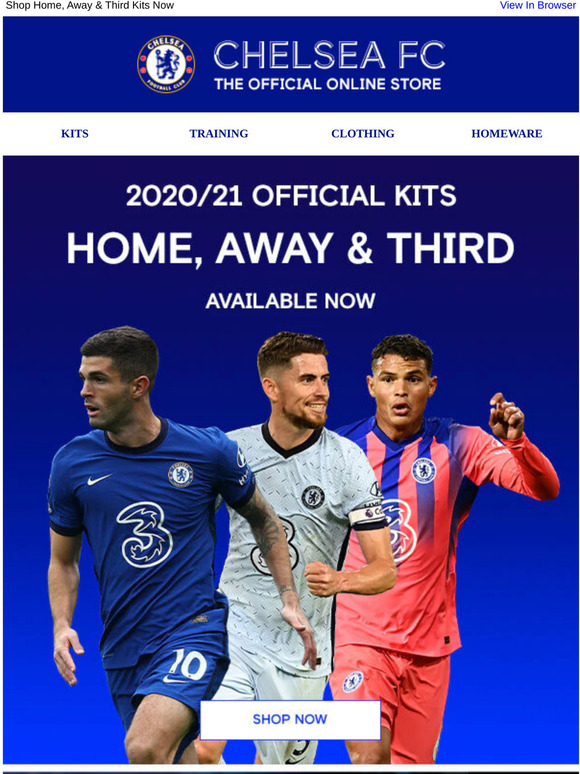 Chelsea Megastore New Official 2020 21 Squad Numbers Milled