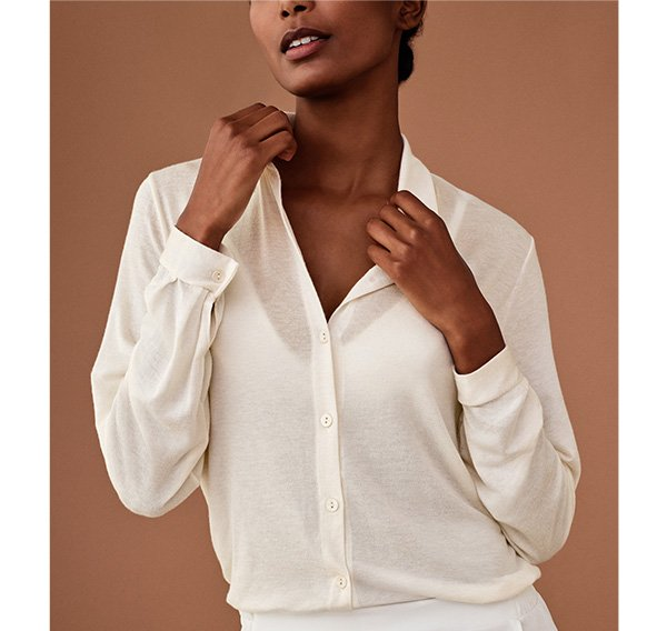 Intimissimi It La Camicia In Ultralight With Cashmere Milled