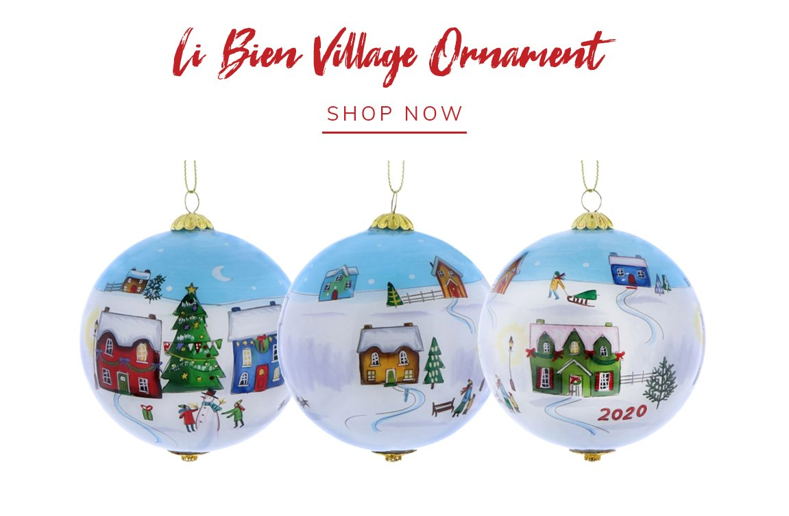 Pier 1: Act Fast: Li Bien Ornaments Have Arrived! | Milled