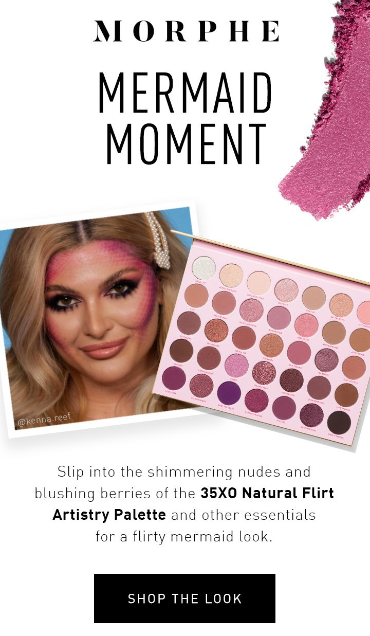 Morphe Not The Spooky Type Try This Mermaid Look Milled Subito a casa e in tutta sicurezza con ebay! spooky type try this mermaid look
