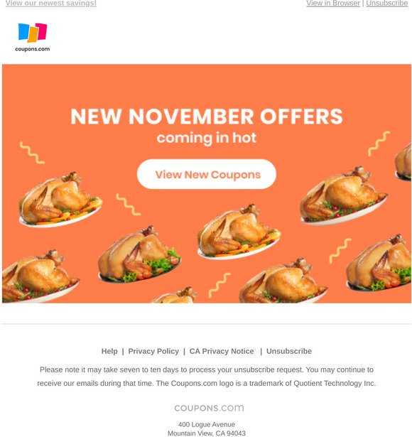 Coupons Com New November Coupons Have Arrived Milled