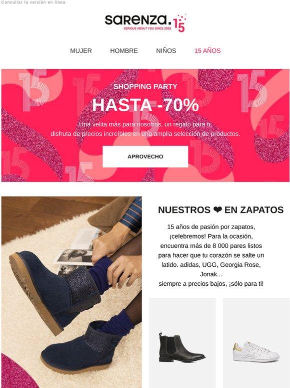 repentinamente salir Unión  Sarenza ES: Hasta -50% en Georgia Rose, Made by Sarenza y I Love Shoes 🤩 |  Milled