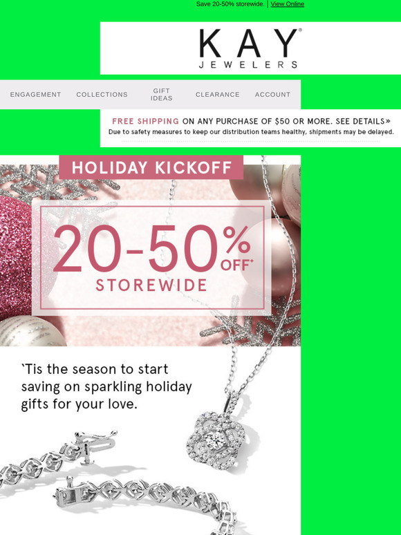 Kay Jewelers Email Newsletters Shop Sales Discounts And Coupon Codes