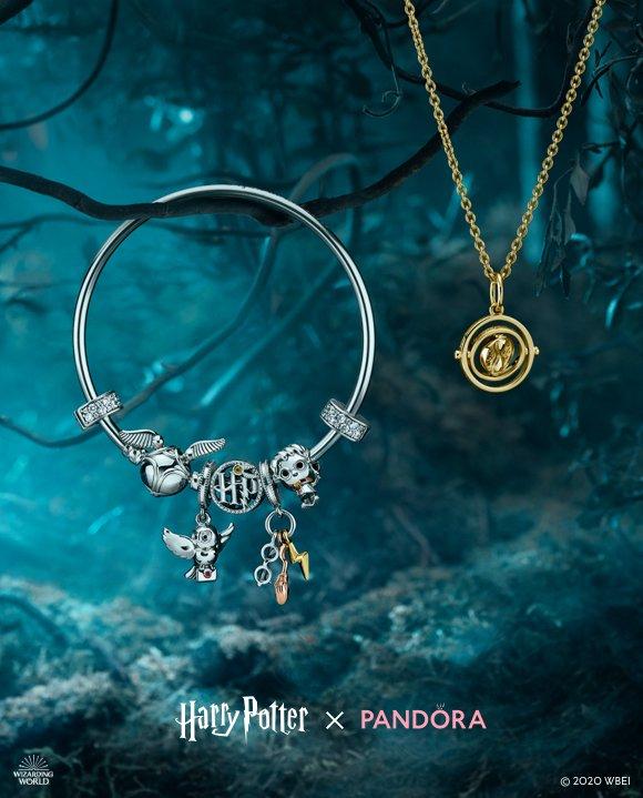 pandora FR: Voyagez dans le temps avec Harry Potter x Pandora ...