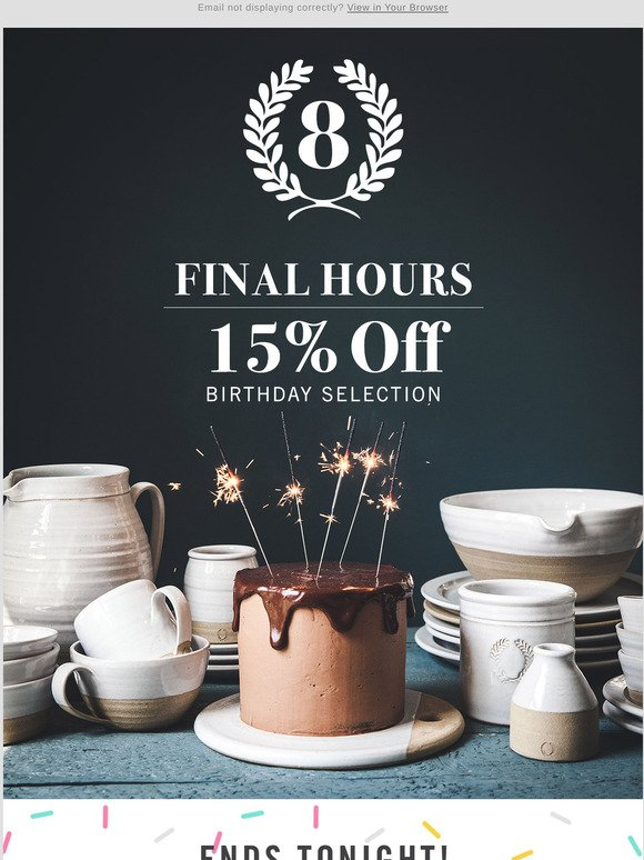Farmhouse Pottery There S Still Time To Shop Our First Ever Online Tent Sale Milled