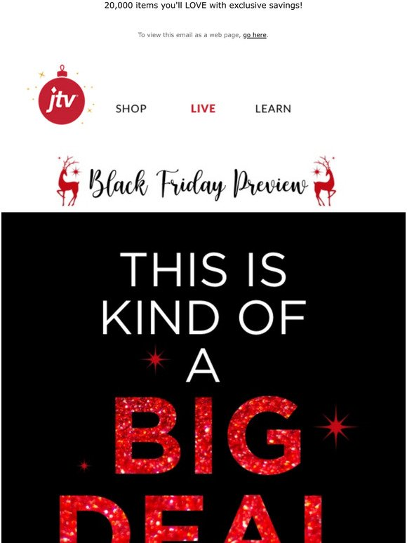 Jtv Black Friday Deals Are Right Here Milled
