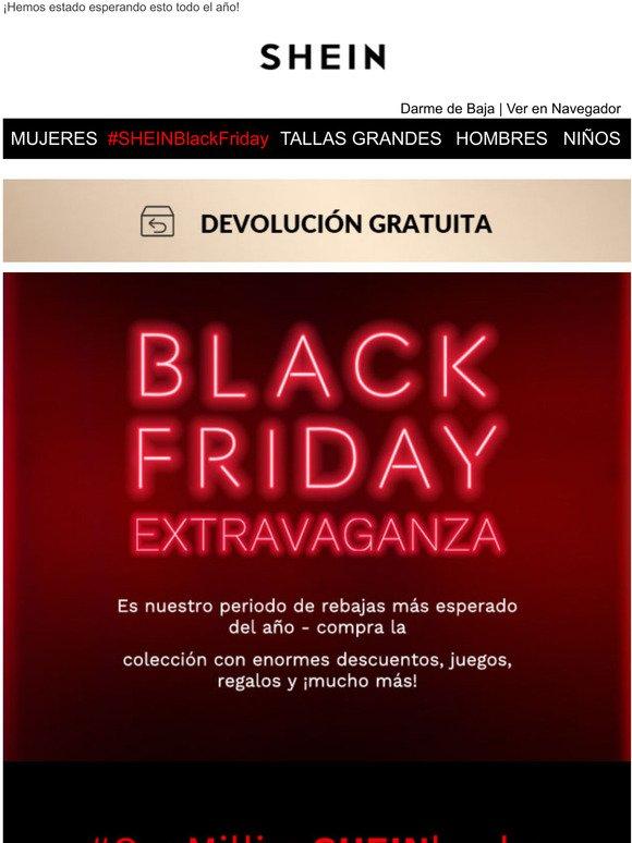 Shein Espanol No Te Lo Pierdas Se Acerca El Black Friday Milled