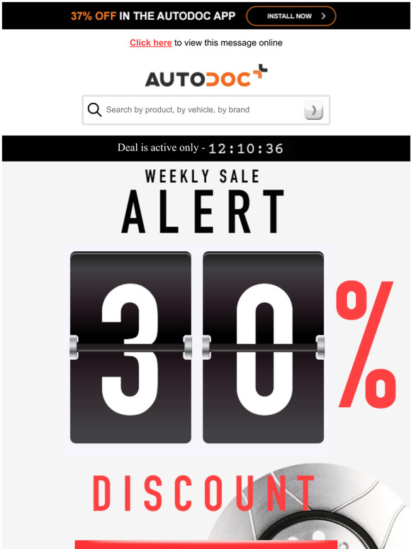 Autodoc Uk Monday Sale Alert 27 Off Your Order Today Milled