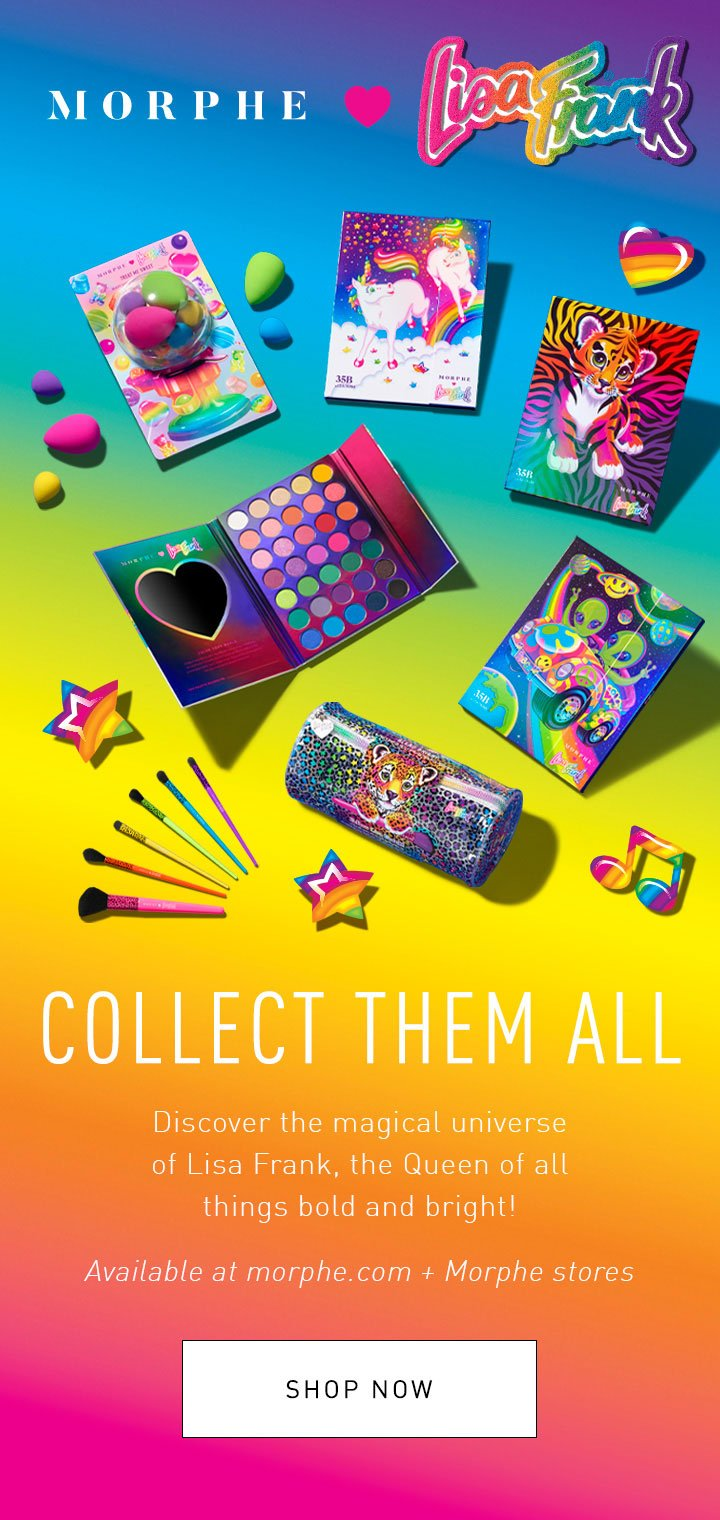 Morphe It S Here Morphe Lisa Frank Milled Next to the lounge is an office area stocked with all the lisa frank stationary you could ever want.trapper keepers included! here morphe lisa frank milled