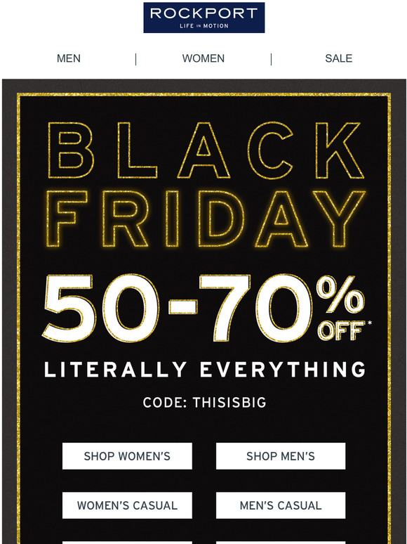 Stop Scrolling! Our Black Friday Event