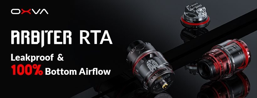 https://www.efun.top: Do You Need An Excellent Leakproof RTA? OXVA Arbiter RTA Is Coming! | Milled