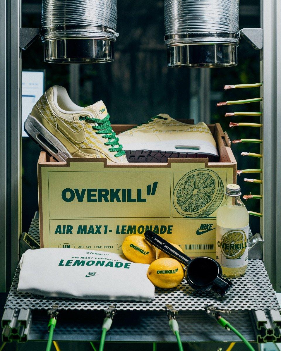 Overkill: ???? NIKE AIR MAX 1 LEMONADE ???? OVERKILL NEWSLETTER ...
