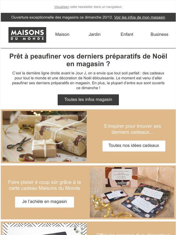 Maisons Du Monde Derniers Cadeaux Dernieres Idees Deco En Magasin Milled