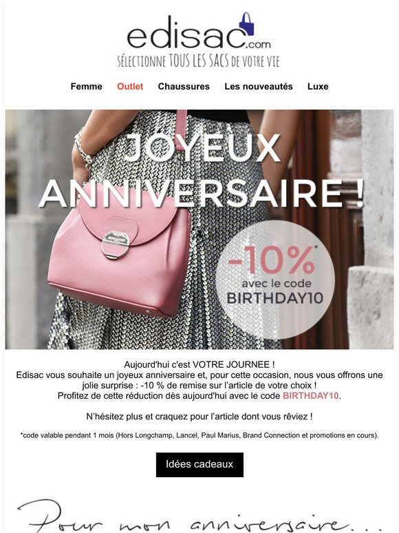 edisac Email Newsletters: Shop Sales, Discounts, and Coupon Codes ...