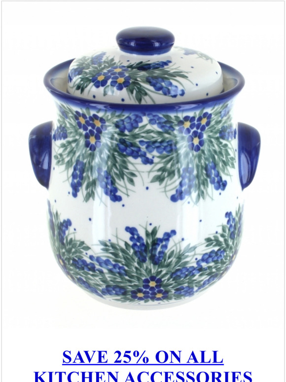 Blue Rose Pottery Dress Up Your Kitchen Save 25 On Accessories Today Milled