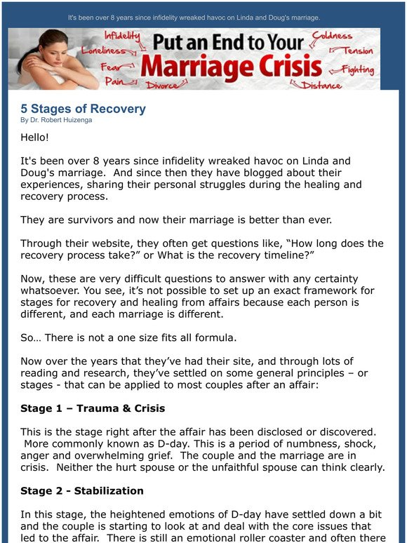 Affairs stages of emotional 4 Stages