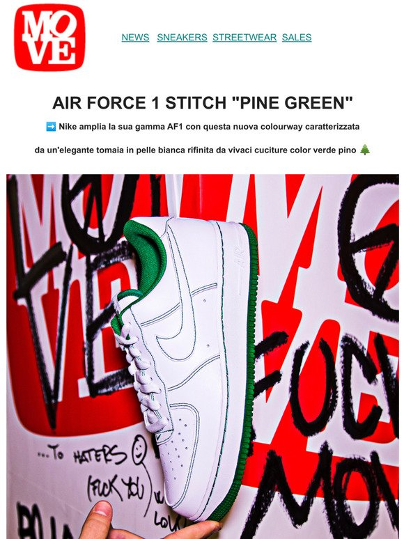 Moveshop: Nike Air Force 1 Stitch - Shop Now!   Milled