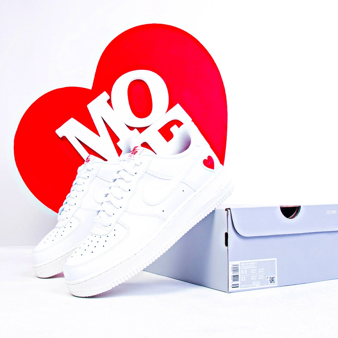 Moveshop: Nike Air Force 1 Valentine's Day - RAFFLE ALERT! | Milled