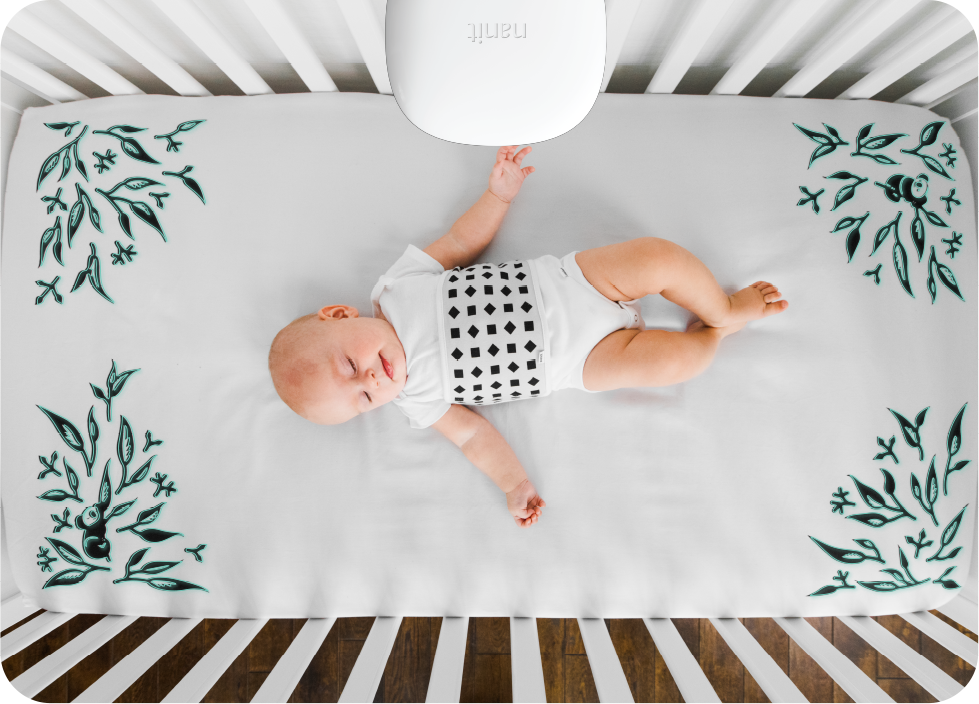nanit: Watch your little one grow with Smart Sheets! | Milled