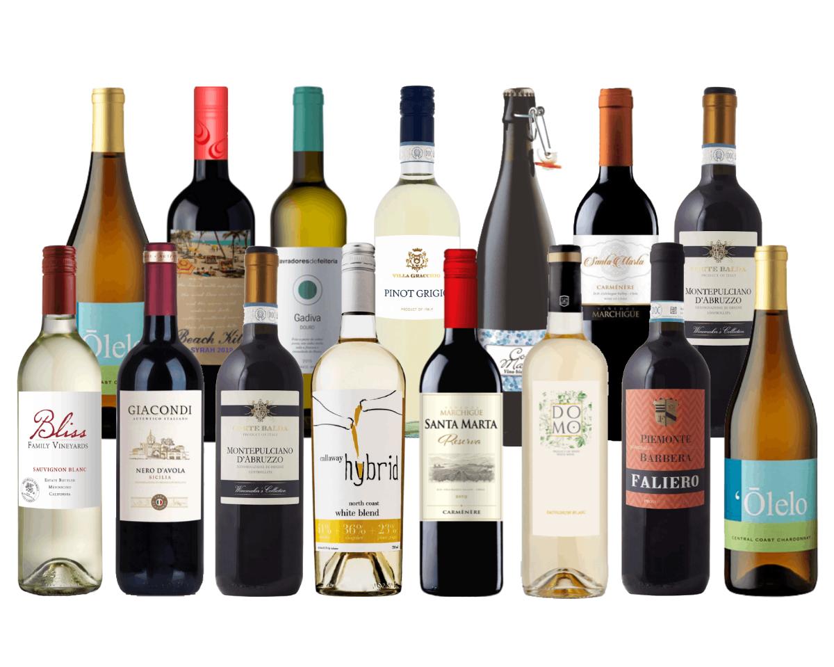 Wine On Sale 12 Bottles of Award Winning Wine & FREE Shipping ...