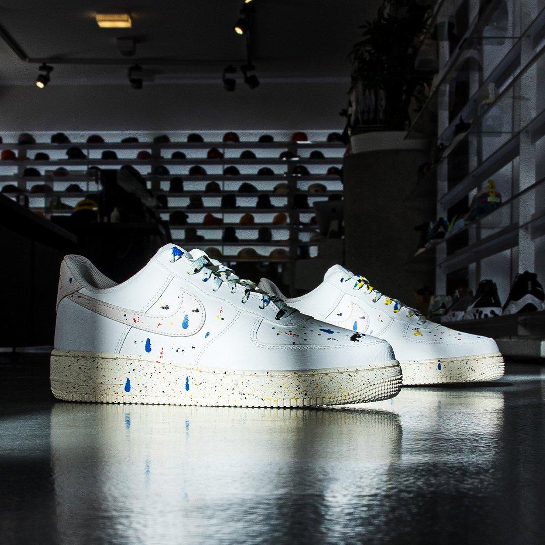 Moveshop: Nike Air Force 1 Paint Splatter- Shop Now!   Milled