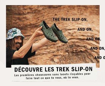 Vans FR: Dcouvre les Trek Slip-On | Milled