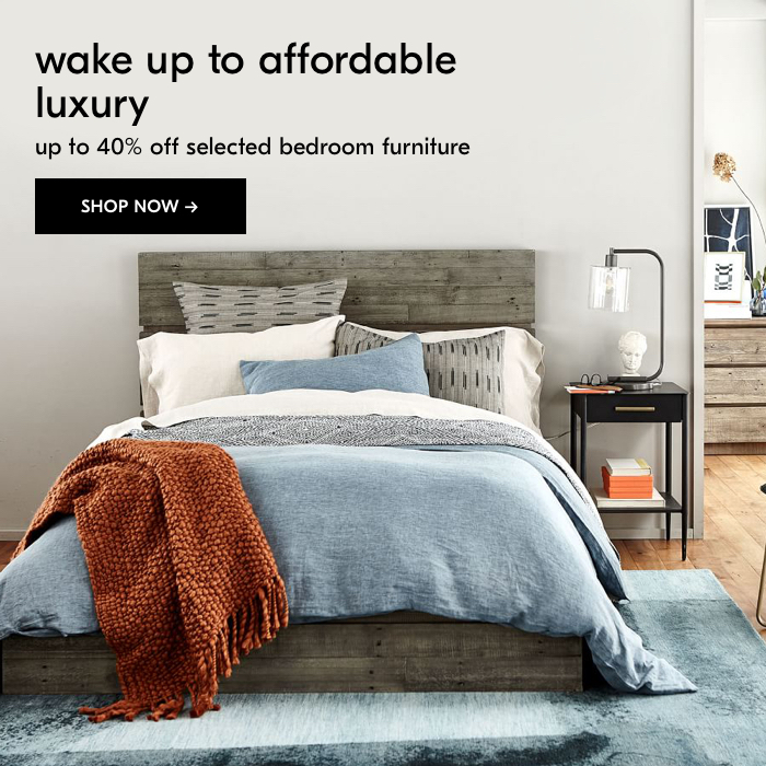 West Elm Ae Sa Kw Up To 40 Off Your Dream Bedroom Furniture Milled