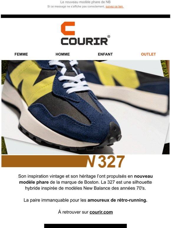 Courir FR: New Balance 327 : pour l'amour du retro | Milled