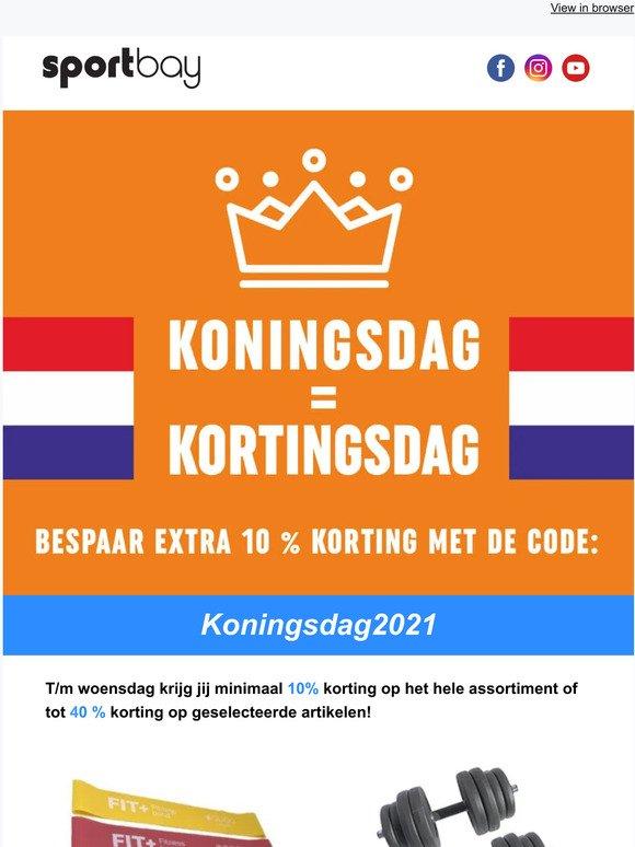 Sportbay Nl Koningsdag Kortingsdag Pak Exclusieve Kortingscodes En Bespaar Tot 40 Extra Milled