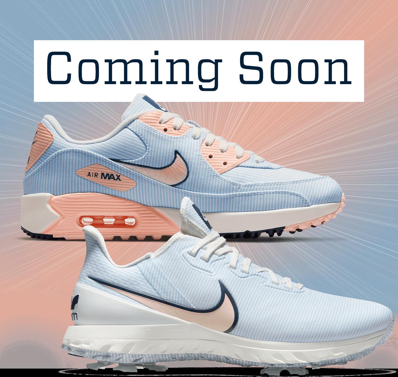Golf Galaxy: Coming Soon...Men's Nike Air Max 90 G NRG & Air Zoom ...
