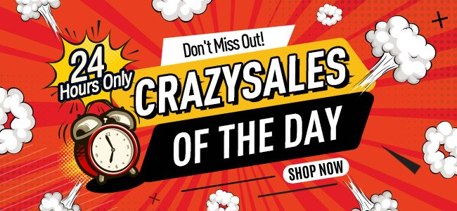 Crazy Sales Coupons & Promo Codes