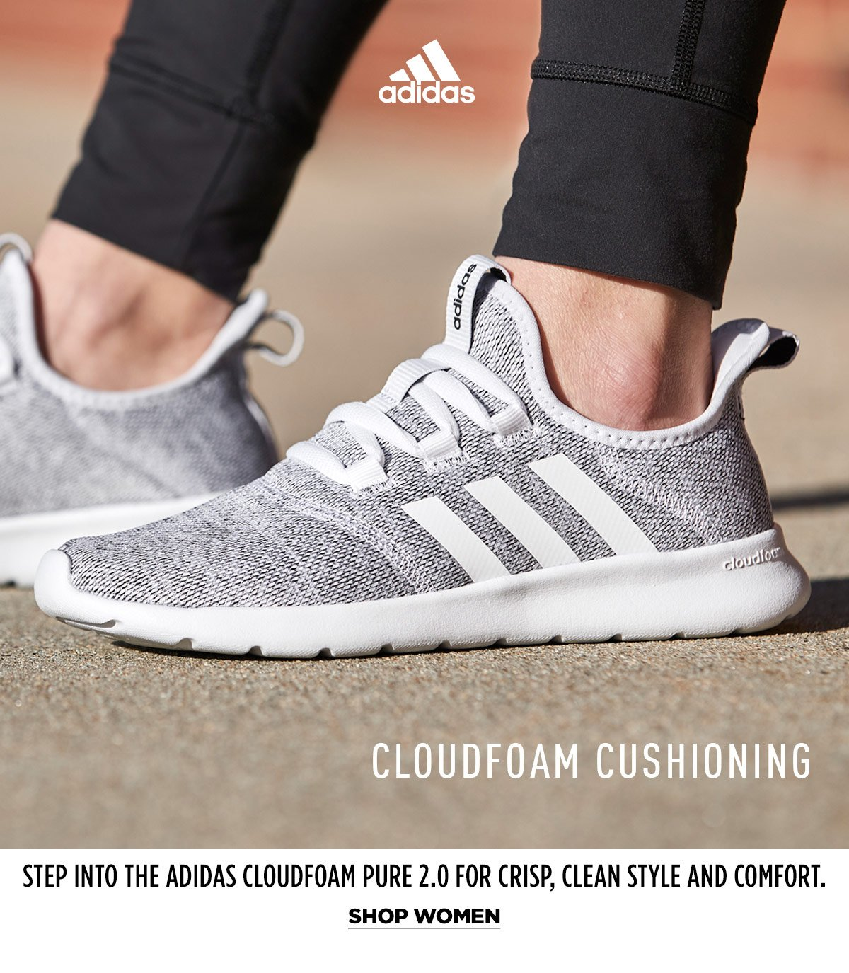 Rack Room Shoes: Step into the adidas Cloudfoam Pure 2.0 | Milled