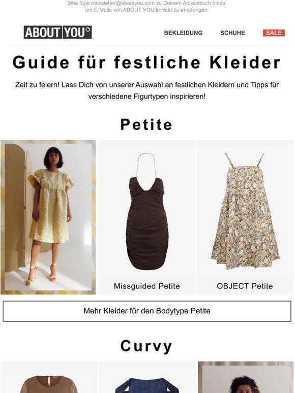 Aboutyou De Festliche Kleider Fr Jeden Figurtyp Milled