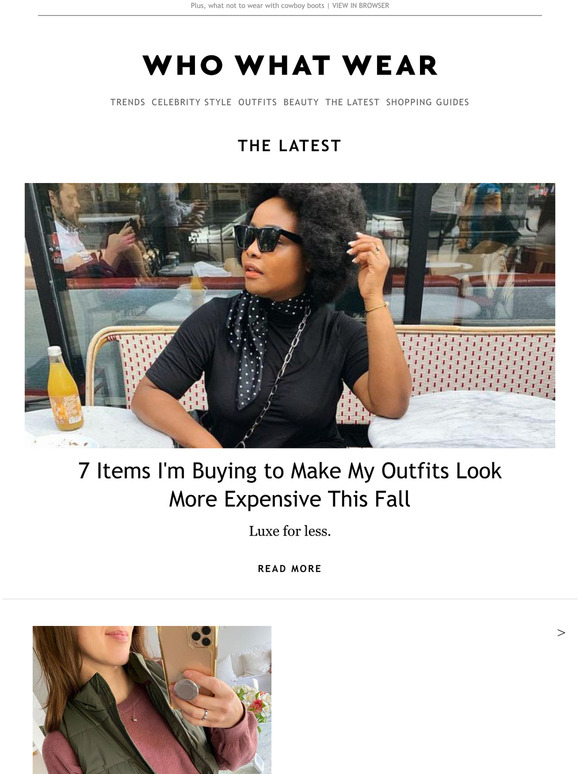 Who What Wear: I found all the best fall trends at H&Myou